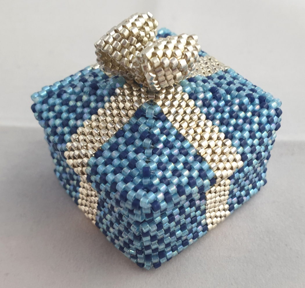 Parcel Beaded Box